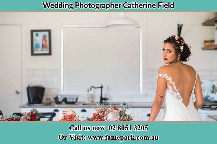 Photo of the Bride Catherine Field NSW 2557