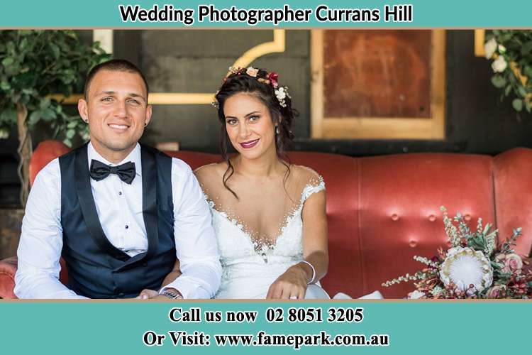 Photo of the Groom and the Bride Currans Hill NSW 2567