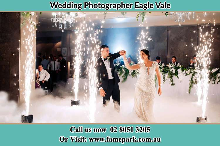Photo of the Groom and the Bride dancing on the dance floor Eagle Vale NSW 2558