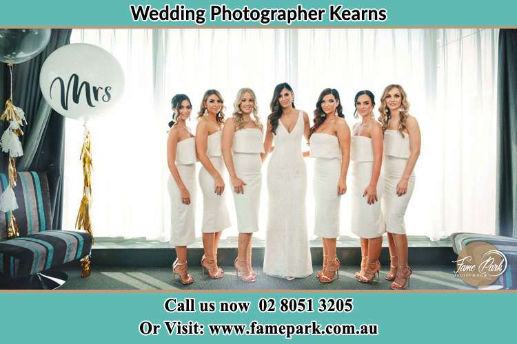 Photo of the Bride and the bridesmaids Kearns NSW 2558