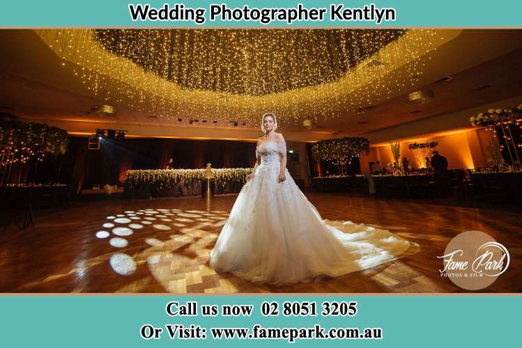 Photo of the Bride on the dance floor Kentlyn NSW 2560