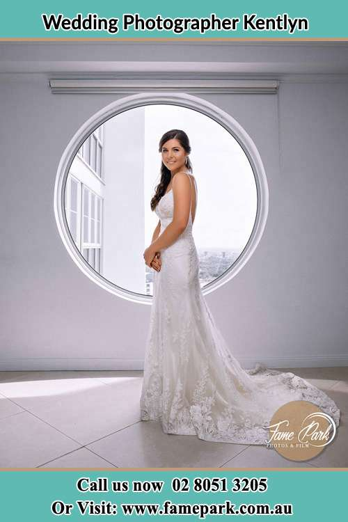 Photo of the Bride near the window Kentlyn NSW 2560