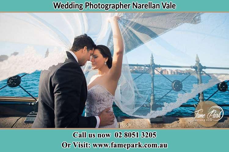 Photo of the Groom and the Bride kissing Narellan Vale NSW 2567
